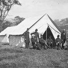 New 5x7 Civil War Photo: Gen. Randolph Marcy and Others, Antietam - Sharpsburg