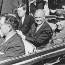 New 5x7 NASA Photo: John F. Kennedy, John Glenn & Gen. Leighton Davis in Parade