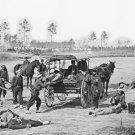 New 5x7 Civil War Photo: Zouave Ambulance Crew in Demonstration