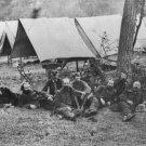 New 5x7 Civil War Photo: John Buford & Other Federal Generals Relaxing, 1862