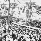 New 5x7 Civil War Photo: Crowd in Tent at the Gettysburg 50th Reunion in 1913