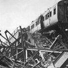 New 5x7 World War II Photo: London Necropolis Railway Station in Ruins, 1941