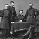 New 5x7 Civil War Photo: Union - Federal General Phil Sheridan & Staff