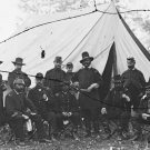 New 5x7 Civil War Photo: Federal Generals Burnside, Buford, Hancock & Others