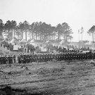 New 5x7 Civil War Photo: Guard mount of 114th Pennsylvania Infantry in Virginia