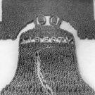 New 5x7 Photo: Human Liberty Bell of 25,000 Men at Camp Dix