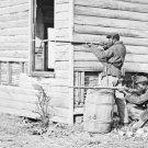 New 5x7 Civil War Photo: Picket Station at Dutch Gap Canal