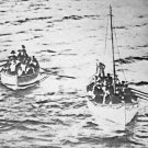 New 5x7 Photo: Survivors of the RMS TITANIC Disaster in Lifeboats, 1912