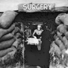 New 5x7 World War II Photo: Underground Surgery Room in Bougainville
