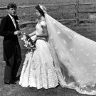 New 5x7 Photo: John Fitzgerald Kennedy with his new wife, Jacqueline Bouvier