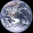New 8x9 Space Photo: Full Disc View of Planet Earth from Apollo 17