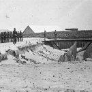 New 5x7 Civil War Photo: Rear view of Fort Walker at Hilton Head, S. Carolina