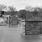 New 5x7 Civil War Photo: Richmond & Danville Railroad Bridge Ruins