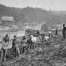 New 5x7 Civil War Photo: 50th New York Engineers at Jericho Mills, Virginia