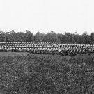 New 5x7 Civil War Photo: Wagon Park at Union Winter Quarters, Brandy Station