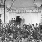 New 5x7 World War II Photo: Bing Crosby Sings for Allied Troops, London