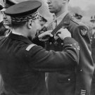 New 5x7 World War II Photo: Actor and Colonel Jimmy Stewart Receives Medal