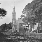 New 5x7 Civil War Photo: 1862 View in Yorktown of Church and Hospital