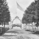 New 5x7 Civil War Photo: Soldiers Cemetery near Alexandria, Virginia