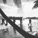 New 5x7 World War II Photo: United States 160th Infantry Regiment at Guadalcanal