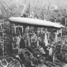 New 5x7 Photo: USS LOS ANGELES Airship over Manhattan New York, 1930