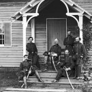New 5x7 Civil War Photo: Union Provost Marshal Marsena Patrick & staff, Culpeper