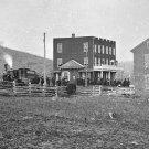 New 5x7 Civil War Photo: Train at Depot in Hanover Junction, Pennsylvania