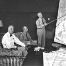 New 5x7 World War II Photo: Roosevelt, MacArthur, Nimitz & Leahy in Conference