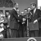New 5x7 NASA Photo: John F. Kennedy and Alan Shepard in Washington D.C.