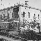 New 5x7 Civil War Photo: The Potter House in Atlanta, Shelled in Seige