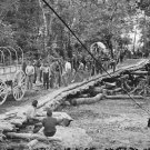 New 5x7 Civil War Photo: Grapevine Bridge across the Chickahominy River