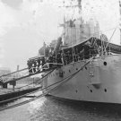 New 5x7 World War I Photo: USS OLYMPIA Carrying Body of the Unknown Soldier