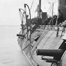New 5x7 Civil War Photo: Effects of Confederate Fire on the USS GALENA