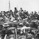 New 5x7 Civil War Photo: President Abraham Lincoln at Gettysburg Address, 1863