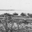 New 5x7 Civil War Photo: Federal Battery at Gloucester, Near Yorktown
