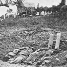 New 5x7 Civil War Photo: Unfinished Graves, Burying the Dead at Gettysburg