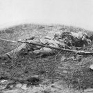New 5x7 Civil War Photo: Federal Soldier Hit by Shell at Gettysburg Battle