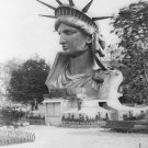 New 5x7 Photo: Head of Statue of Liberty on Display in Paris