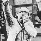New 5x7 World War II Photo: Sudeten Woman Weeps in a Forced Salute