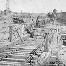 New 5x7 Civil War Photo: Orange and Alexandria Railroad wrecked by Confederates
