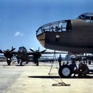 New 5x7 World War II Photo: New B-25 Bombers Lined for Final Inspection, 1942