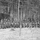 New 5x7 Civil War Photo: 114th Pennsylvania Infantry at Petersburg, Virginia