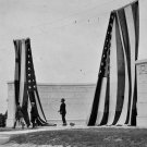 New 5x7 Civil War Photo: Unveiling of New York Monument, Gettysburg Battlefield