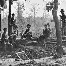 New 5x7 Civil War Photo: Federal Pickets Near Atlanta, Georgia