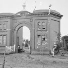 New 5x7 Civil War Photo: Evergreen Cemetery Gate after Battle of Gettysburg