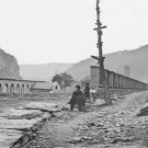 New 5x7 Civil War Photo: CSA Confederate Arsenal Ruins at Harper's Ferry