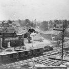 New 5x7 Civil War Photo: Railroad Cars at Train Depot, Atlanta