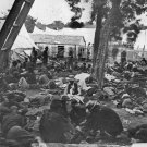New 5x7 Civil War Photo: Wounded at Field Hospital, Savage Station Virginia