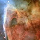 New 5x7 Space Photo: Light & Shadow in the Carina Nebula by Hubble Telescope