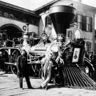 """New 5x7 Photo: Engine """"Nashville"""" of the Funeral Train for Abraham Lincoln"""
